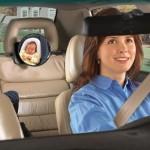 Lusterko do obserwowania dziecka w samochodzie