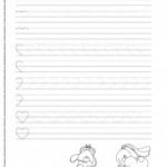 Szlaczki – arkusz 16 – jak narysować serduszko