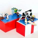 Pudełko turystyczne na klocki Lego