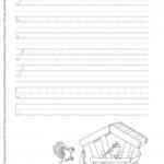 Szlaczki arkusz 17 – zaczynamy pisać literkę A