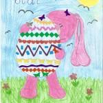 """Rozstrzygnięcie konkursu plastycznego """"Wielkanocna kolorowanka z Królikiem Pasztetem"""""""