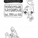 Kolorowanka od Bazgroszytu – Telefony alarmowe cz. 2. Pogotowie ratunkowe