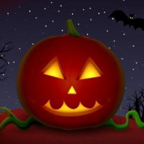 Strrraaasznie fajna interaktywna dynia na Halloween
