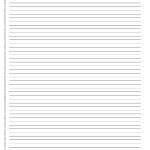Arkusze do nauki pisania – kartka w 3 linie