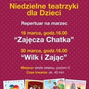 """""""Wilk i Zając"""" spektakl dla dzieci w Galerii Bronowice"""