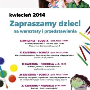 Warsztaty kreatywne dla dzieci w Galerii Bronowice