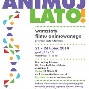 Lato w mieście - Warszawa - warsztaty filmu animowanego