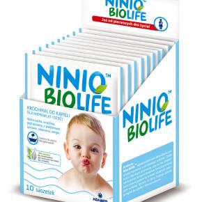 Saszetki z krochmalem Ninio BioLife