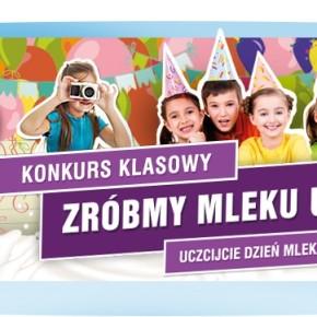 Konkurs klasowy z okazji Światowego Dnia Mleka